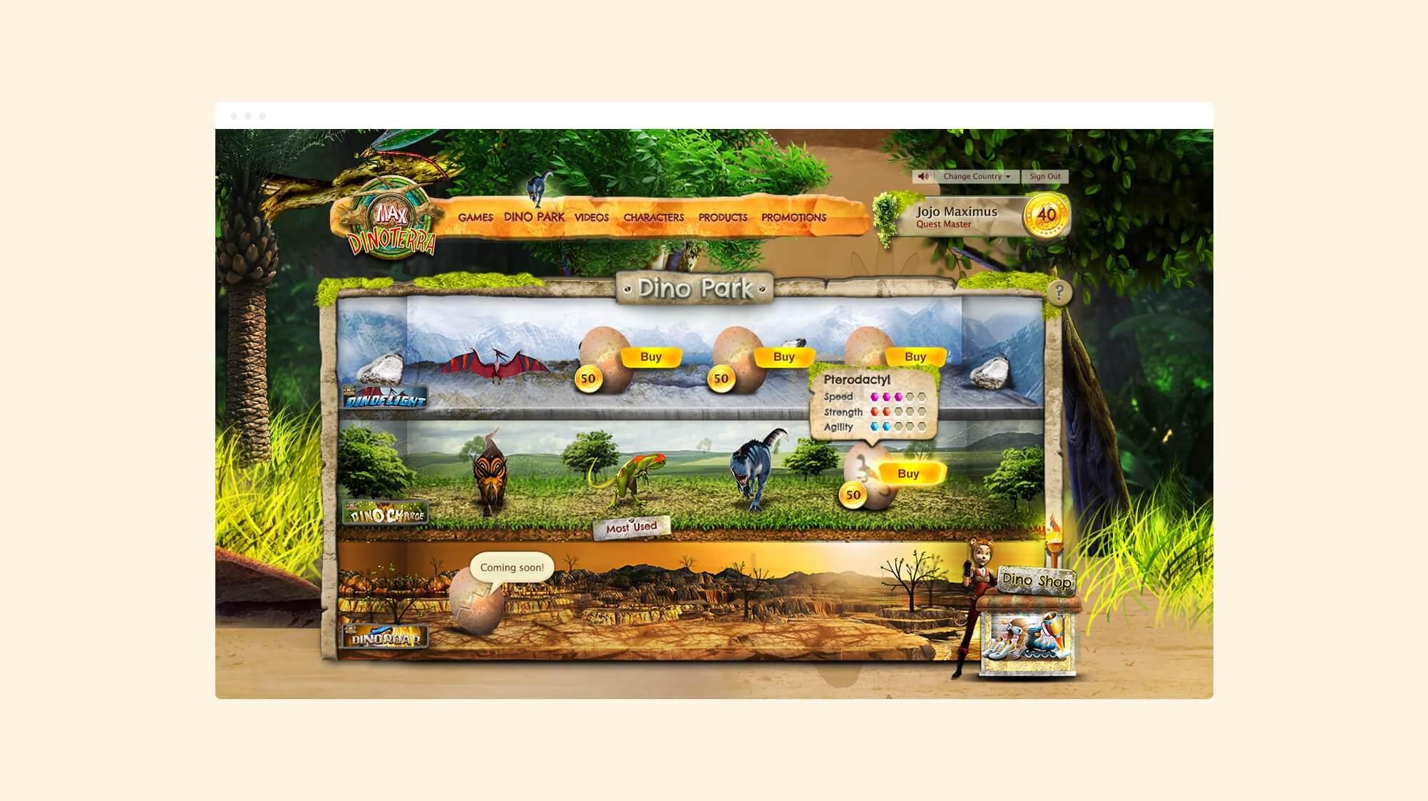Paddlepop-Dinopark